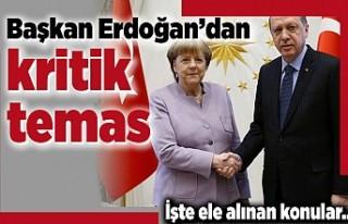 Başkan Erdoğan'dan kritik temas! İşte ele...