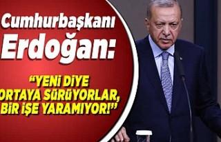 Cumhurbaşkanı Erdoğan Genişletilmiş İl Başkanları...