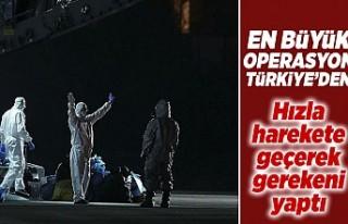En büyük operasyon Türkiye'den! Hızla hareket...