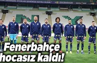 Fenerbahçe hocasız kaldı!