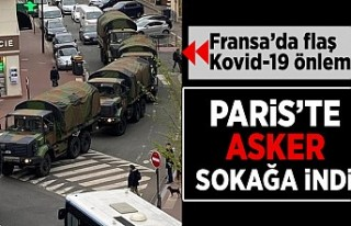 Fransa'da flaş Kovid-19 önlemi! Paris'te...