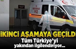 İkinci aşamaya geçildi! Tüm Türkiye'yi ilgilendiriyor...