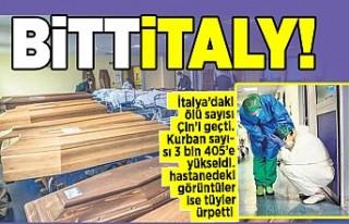 İtalya'daki ölü sayısı Çin'i geçti. Kurban...