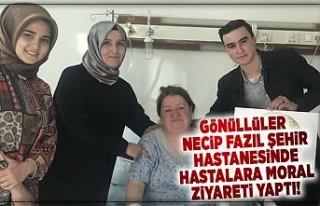 Kahramanmaraş'ta Gönüllüler Necip Fazıl...