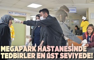 Kahramanmaraş'ta Özel Megapark Hastanesinde...