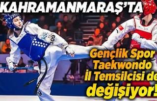 Kahramanmaraş'ta Taekwondo İl temsilcisi de...