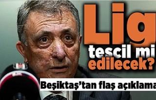 Lig tescil mi edilecek? Beşiktaş'tan flaş...