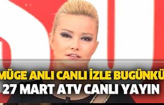 Müge Anlı son bölüm izle 27 Mart Cuma! Zehra Topdağ...