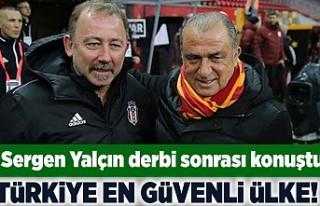 Sergen Yalçin derbi sonrası konuştu! Türkiye en...