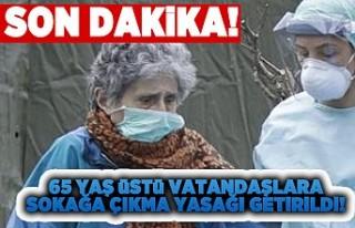 Son dakika | Türkiye'de 65 yaş ve üstü ile...