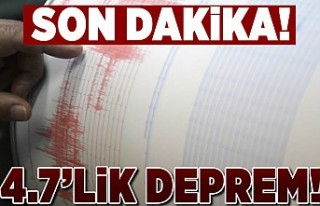 Son Dakika! Van'da deprem!