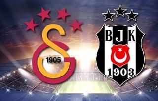 Trabzonspor Başakşehir ve Galatasaray Beşiktaş...