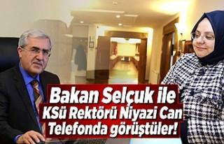 Bakan Selçuk, Üniversite Rektörleri ile Hastanelerin...