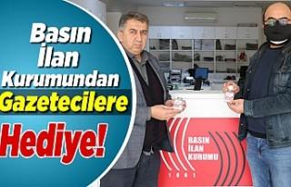 Basın İlan Kurumundan Kahramanmaraşlı Gazetecilere...
