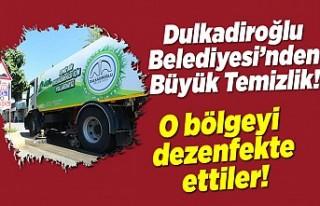 Dulkadiroğlu Belediyesi'nden büyük temizlik!