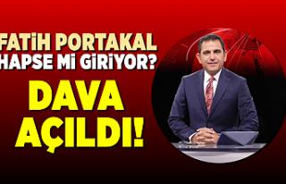 Fatih Portakal hapse mi giriyor?