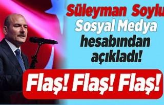 İç İşleri Bakanı Süleyman Soylu sosyal medya...