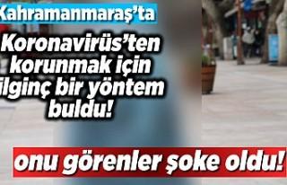 Kahramanmaraş'ta koronavirüs'ten korunmak...