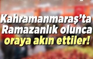 Kahramanmaraş'ta ramazanlık olunca oraya akın...