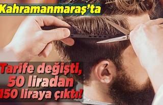Kahramanmaraş'ta tarife değişti 50 liradan,...