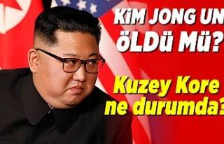 Kim Jong öldü mü? Kuzey Kore lideri Kim Jong Un...