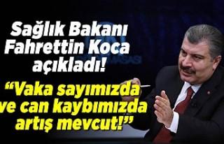 Sağlık Bakanı Fahrettin Koca açıkladı! ''vaka...