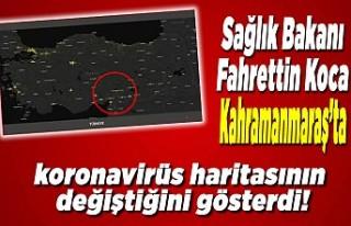 Sağlık Bakanı Fahrettin Koca Kahramanmaraş koronavirüs...