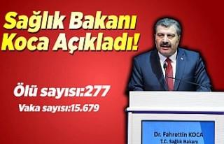 Sağlık Bakanı Fahrettin Koca Koronavirüs vakalarını...