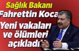 Sağlık Bakanı Fahrettin Koca yeni rakamları açıkladı!
