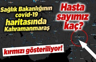 Sağlık Bakanı Kahramanmaraş'ı kırmızı...