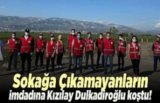 Sokağa çıkmayanların imdadına Kızılay Dulkadiroğlu...