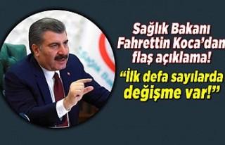 Son dakika: Sağlık Bakanı Fahrettin Koca koronavirüste...