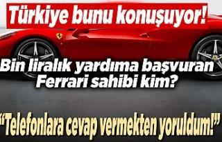 Türkiye bunu konuşuyor! bin liralık yardıma başvuran...