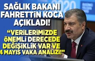 Sağlık Bakanı Fahrettin Koca açıkladı! 4 Mayıs...