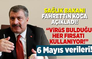 Sağlık Bakanı Fahrettin Koca koronavirüste yeni...