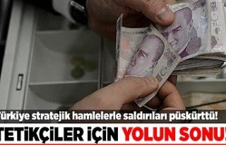 Türkiye yaptığı hamlelerle ekonomik saldırıları...