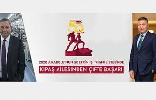 ANADOLU'NUN EN ETKİN 50 İŞ İNSANI ARAŞTIRMASINDA...