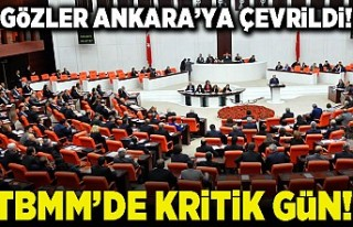 Gözler Ankara'ya çevrildi! TBMM'de kritik...