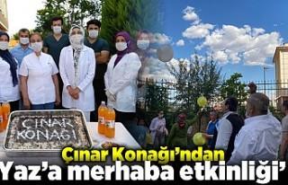 Hayatı dolu dolu yaşıyorlar Çınar Konağı'ndan...