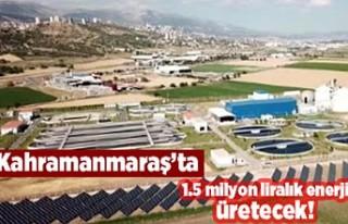 Kahramanmaraş'ta 1.5 milyon liralık enerji...