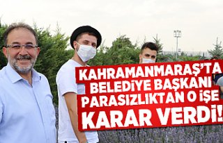 Kahramanmaraş'ta Belediye Başkanı parasızlıktan...