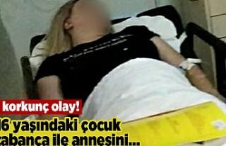 Korkunç olay! 16 yaşındaki çocuk tabanca ile annesini...