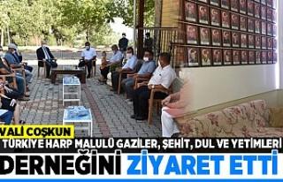 VALİ COŞKUN TÜRKİYE HARP MALULÜ GAZİLER, ŞEHİT,...