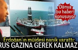 Dünya bu haberi konuşuyor! Erdoğan'ın müjdesi...