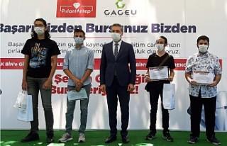 GAZİANTEP'TE YKS'DE İLK 5,000'E GİREN ÖĞRENCİLERE...