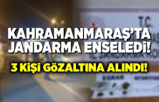 Kahramanmaraş'ta narkotik uygulaması