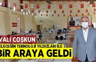 Kahramanmaraş'ta VALİ COŞKUN, GELECEĞİN...