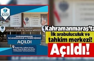 KAHRAMANMARAŞ'TA İLK VE TEK ARABULUCULUK VE TAHKİM...