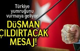 Türkiye yumruğunu vurmaya geliyor! Düşman çıldırtacak...