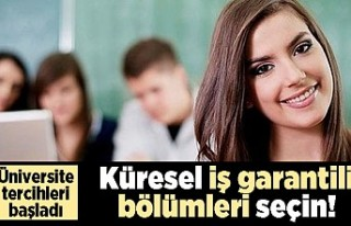 Üniversite tercihleri başladı! Küresel iş garantili...